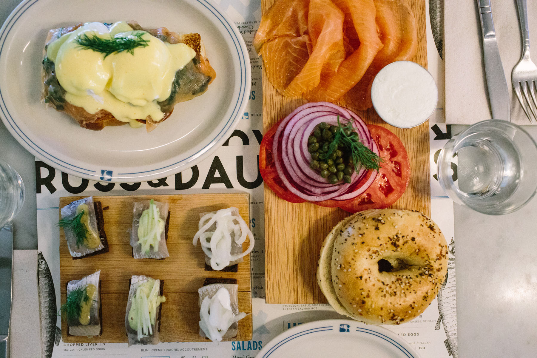Brunch at Russ & Daughters Cafe